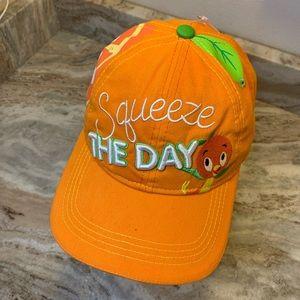 Disney orange bird squeeze the day hat